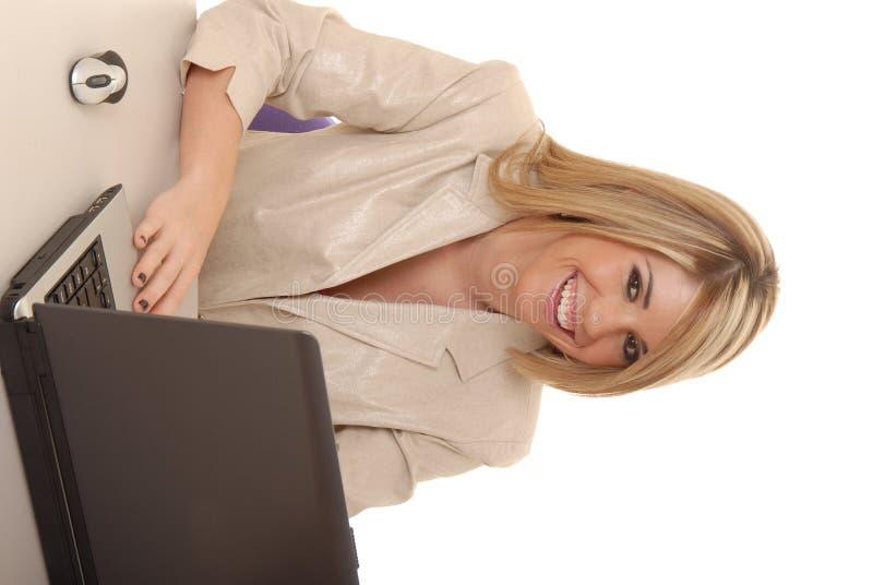 Mulher de negócio encantadora 1 foto de stock