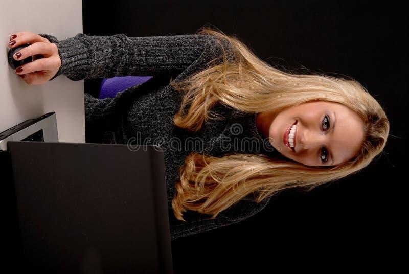 Mulher de negócio encantadora fotos de stock