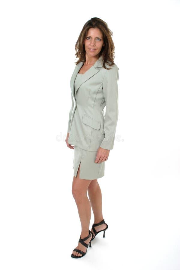 Mulher de negócio executiva bonita 10 imagens de stock royalty free