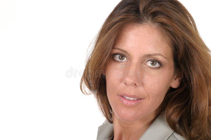 Mulher de negócio executiva bonita 5 imagem de stock royalty free