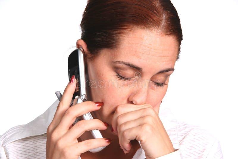Mulher de negócio frustrada fotos de stock