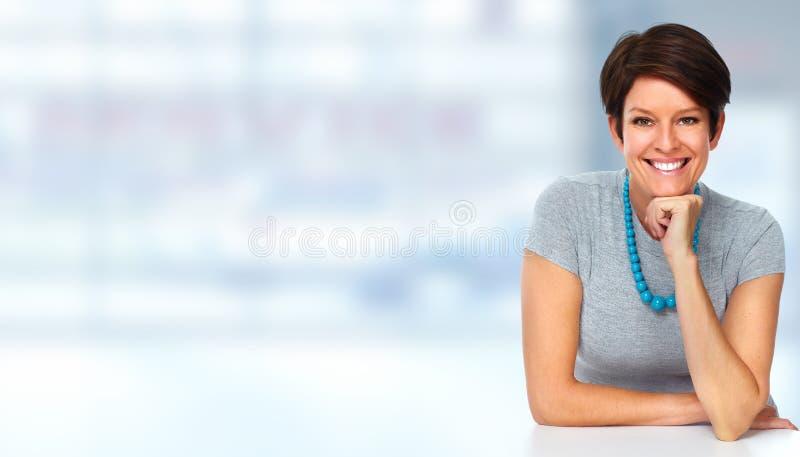 Mulher de negócio maduro fotos de stock