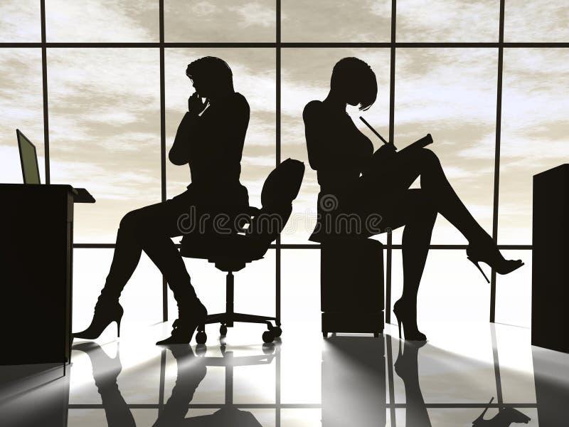 Mulher de negócio moderna imagens de stock royalty free