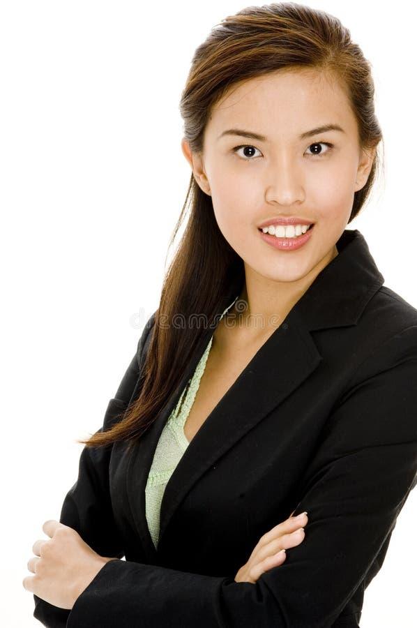 Mulher de negócio nova imagem de stock