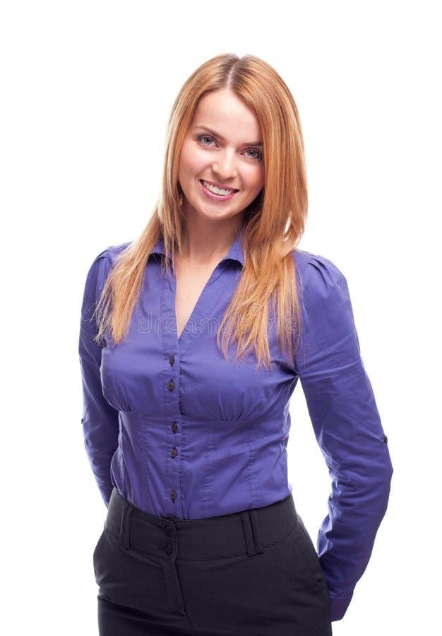 Download Mulher de negócio nova imagem de stock. Imagem de olhar - 26523095