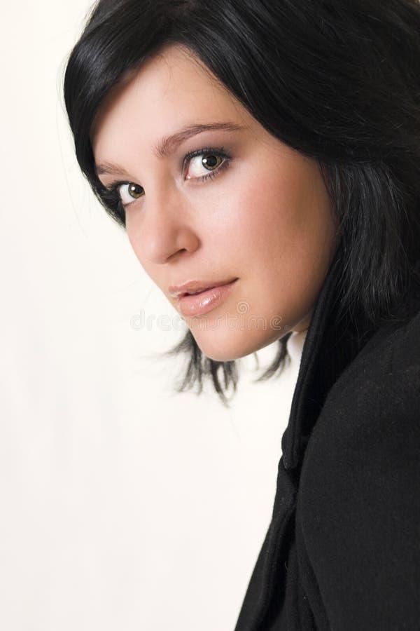 Mulher de negócio nova bonita foto de stock royalty free