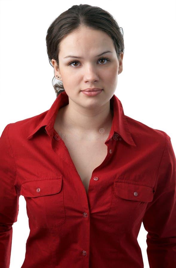 Mulher de negócio nova da beleza imagens de stock royalty free