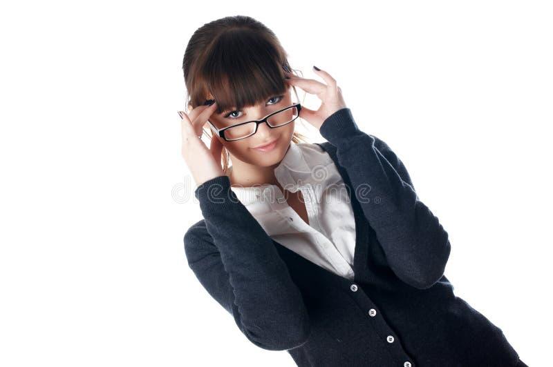 Download A Mulher De Negócio Nova Encantador Imagem de Stock - Imagem de menina, negócio: 12813313