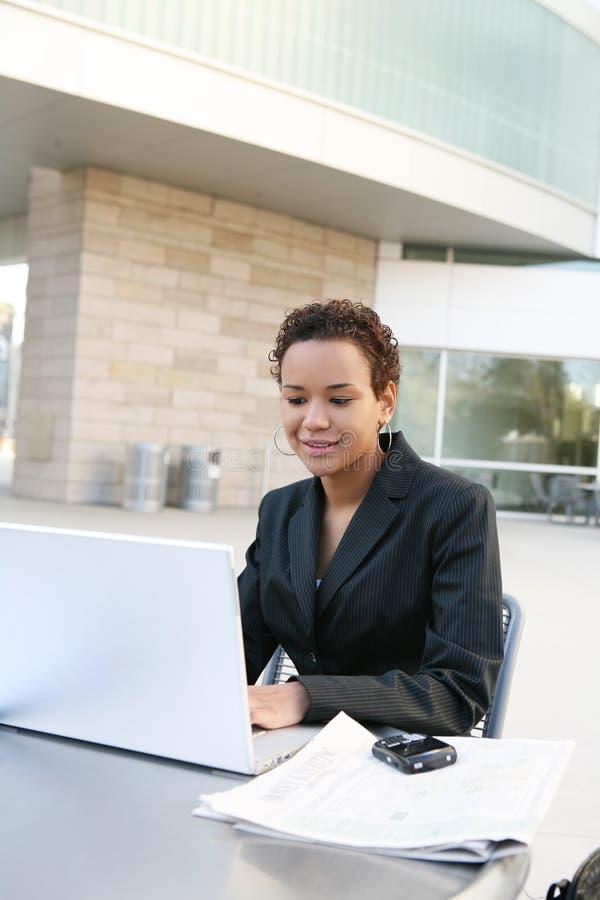 Mulher de negócio preta fotos de stock