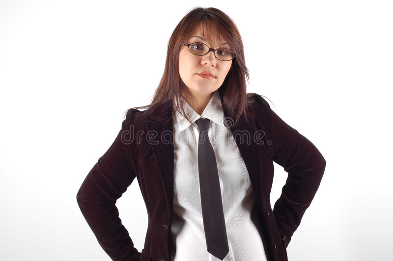 Mulher de negócios #12 imagem de stock royalty free