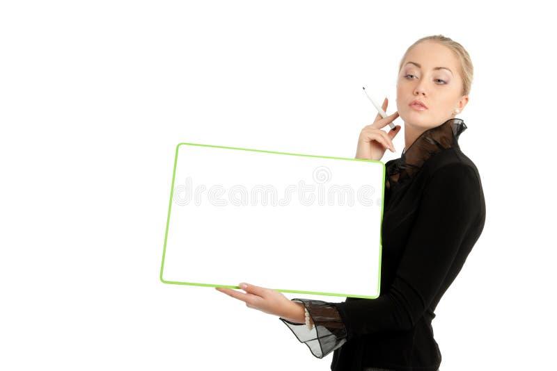 Download Mulher de negócios foto de stock. Imagem de ambicioso - 12810436