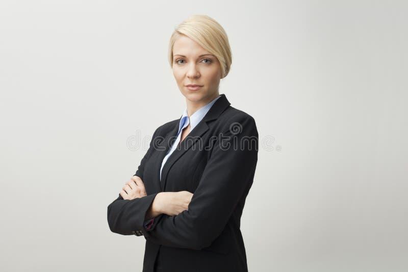 Mulher de negócios. fotografia de stock