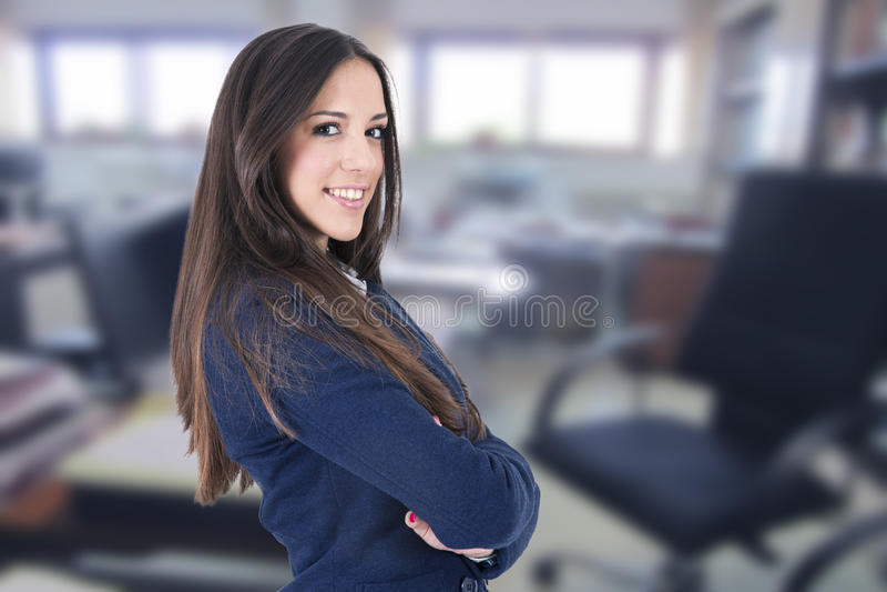 Mulher de negócios foto de stock