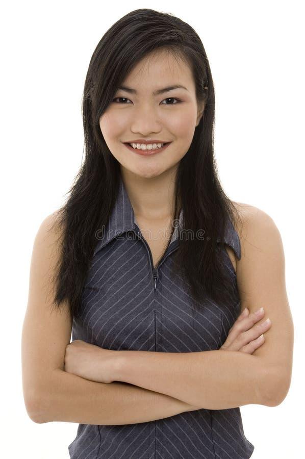 Mulher de negócios asiática 2 fotos de stock royalty free