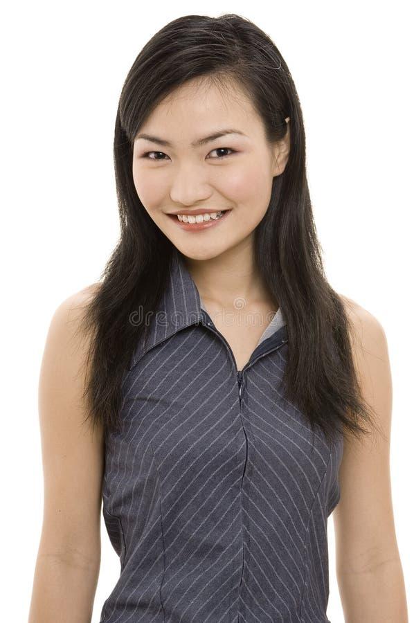 Mulher de negócios asiática fotografia de stock