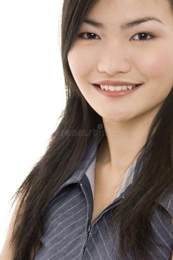 Mulher de negócios asiática 4 imagem de stock