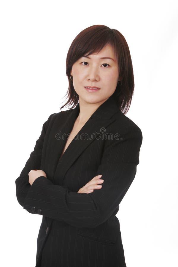 Mulher de negócios asiática fotos de stock royalty free