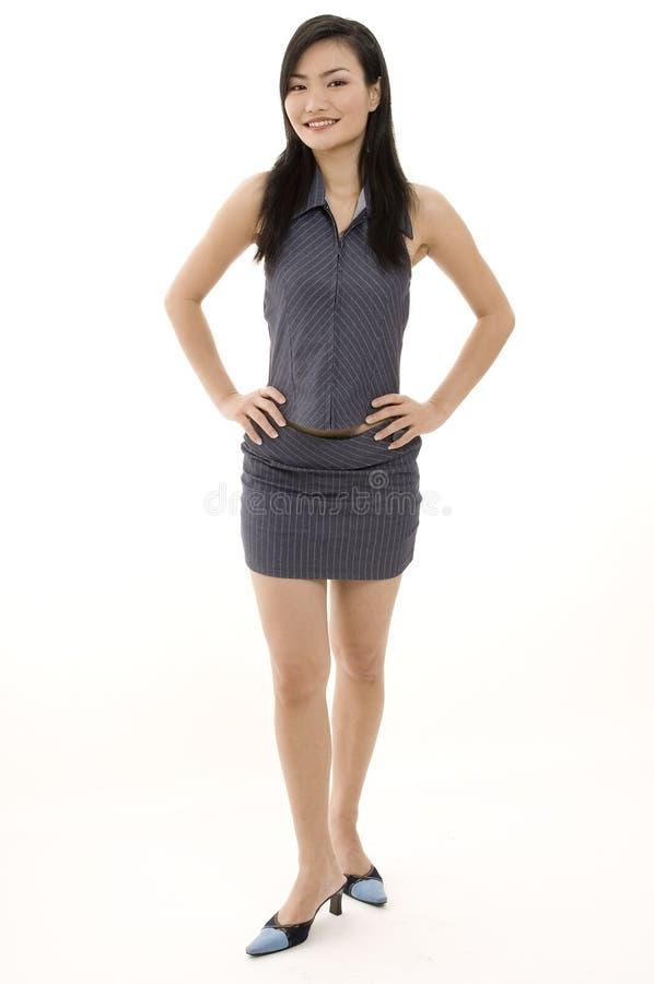 Mulher de negócios asiática 8 foto de stock
