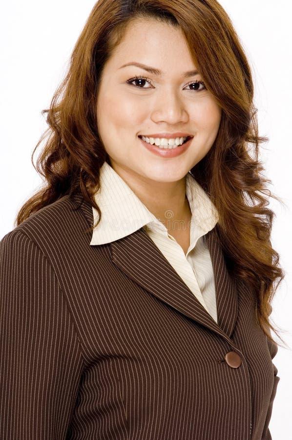 Mulher de negócios bonita fotografia de stock royalty free