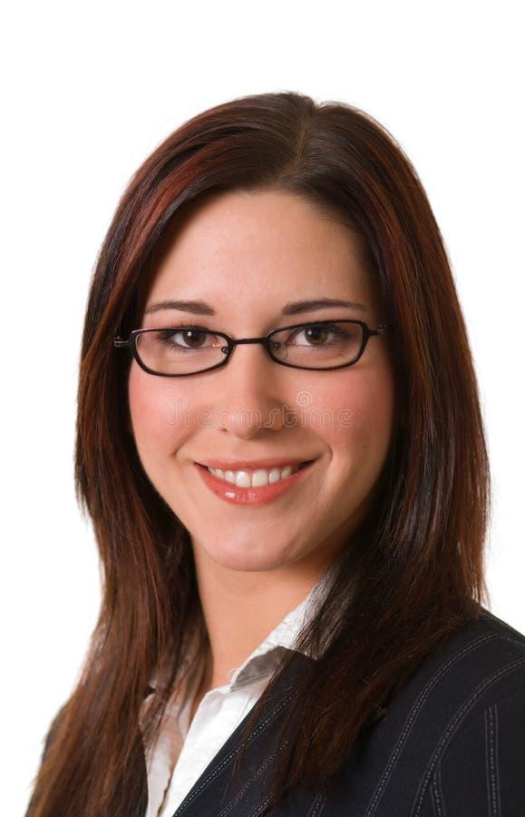 Mulher de negócios bonita imagens de stock royalty free