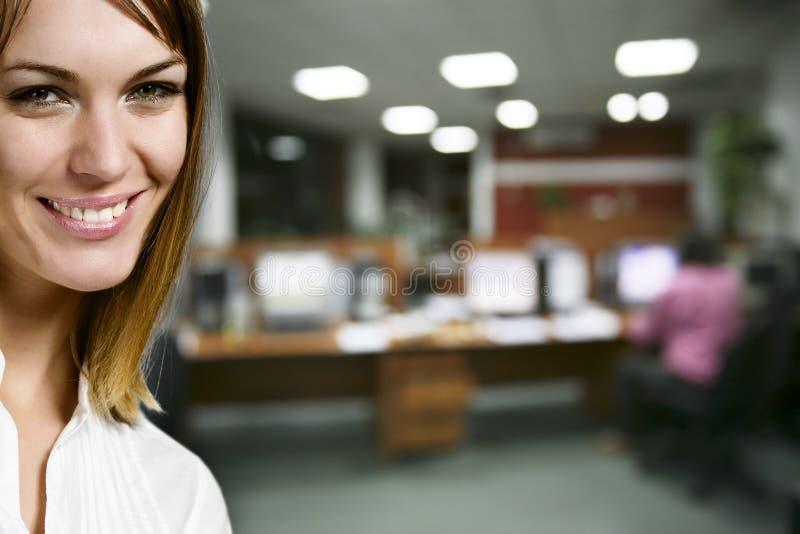 Mulher de negócios Charming fotografia de stock royalty free