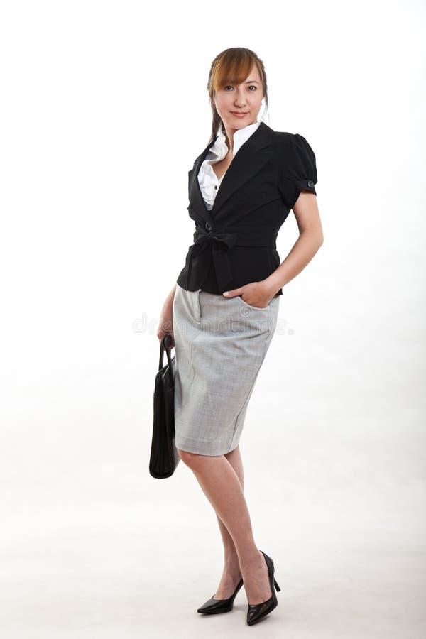 Mulher De Negócios Chinesa Atrativa Dos Anos Quarenta Foto de Stock Royalty Free