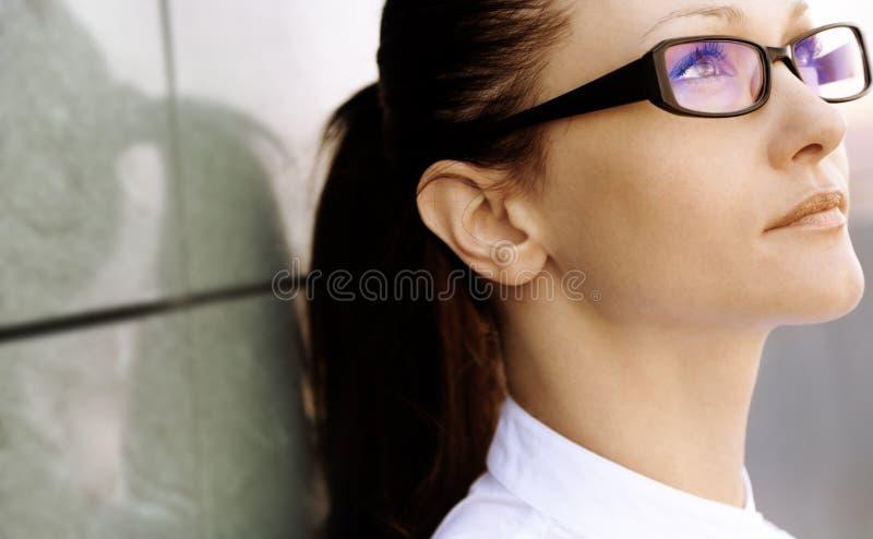 Mulher de negócios confiável foto de stock