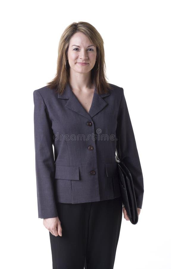 Mulher de negócios confiável imagem de stock royalty free