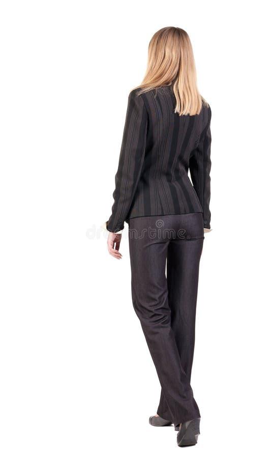 Mulher de negócios de passeio. imagens de stock royalty free