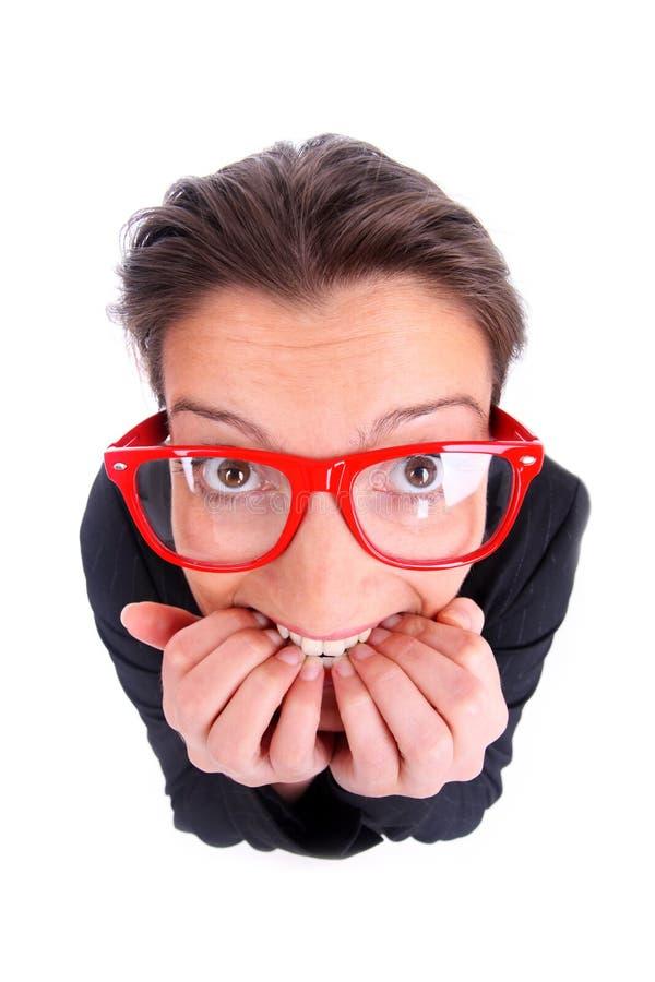 Mulher de negócios deprimida foto de stock royalty free