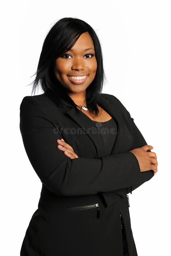 Mulher de negócios do americano africano imagem de stock royalty free