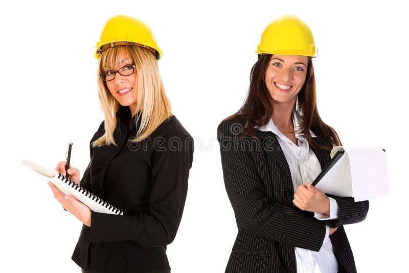 Mulher de negócios dois fotografia de stock