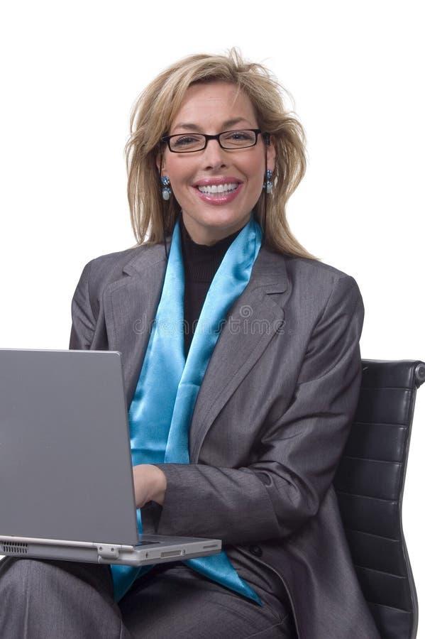 Mulher de negócios executiva imagem de stock royalty free