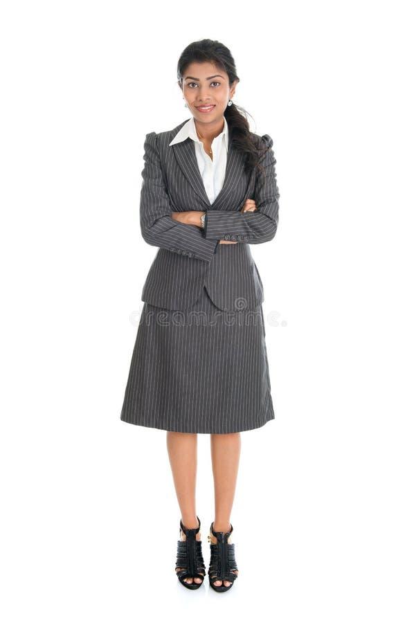 Mulher de negócios indiana foto de stock royalty free