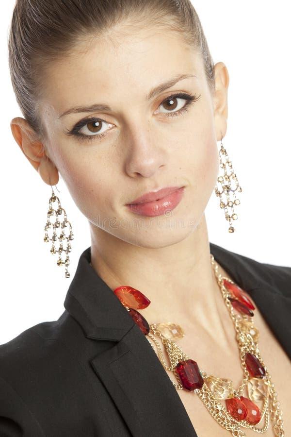 Mulher de negócios lindo imagem de stock royalty free
