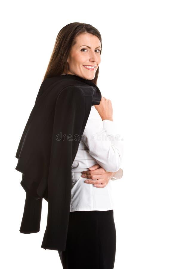 Mulher de negócios madura atrativa imagem de stock royalty free