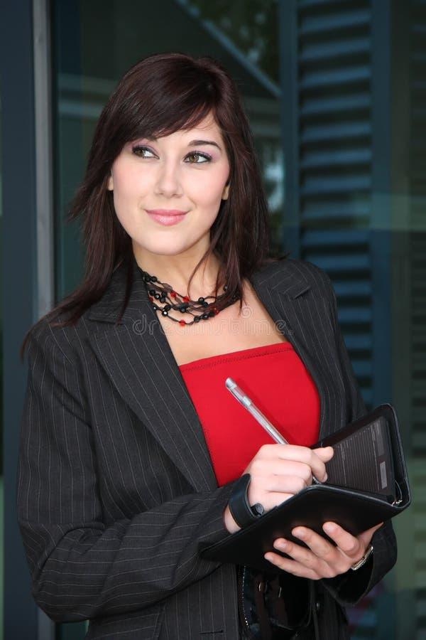 Download Mulher de negócios moderna imagem de stock. Imagem de preto - 10054349