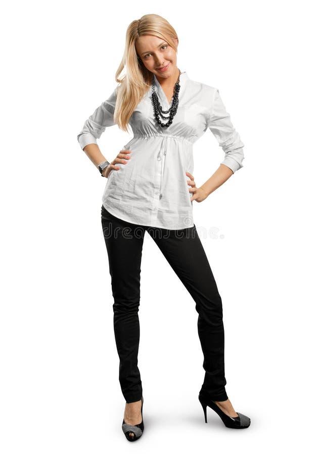 Mulher de negócios nova fotos de stock
