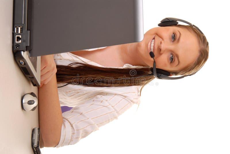 Mulher de negócios nova 48 fotografia de stock