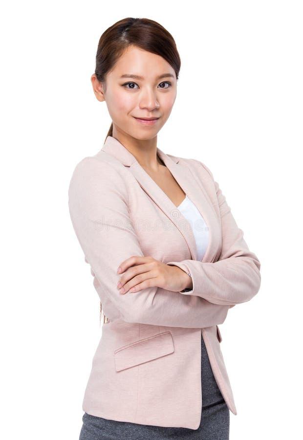 Mulher de negócios nova imagens de stock royalty free