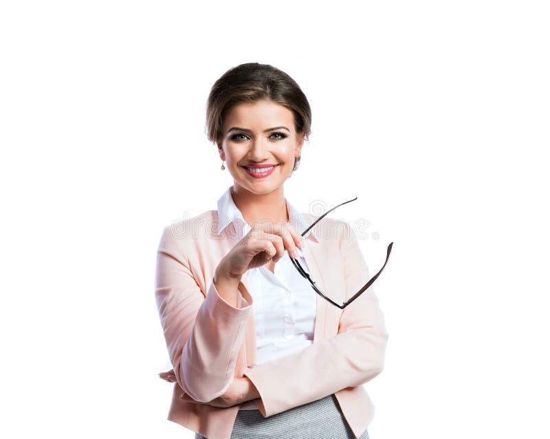 Mulher de negócios nova atrativa fotos de stock royalty free
