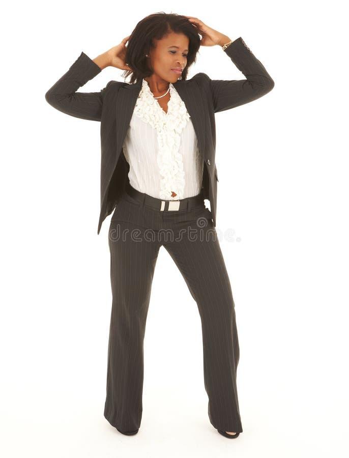 Mulher de negócios preta fotos de stock