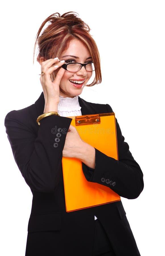 Mulher de negócios/professor 'sexy' fotos de stock royalty free
