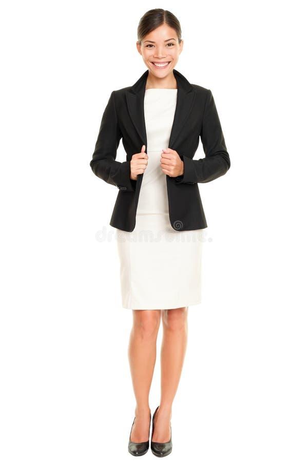 Mulher de negócios profissional asiática étnica fotografia de stock royalty free