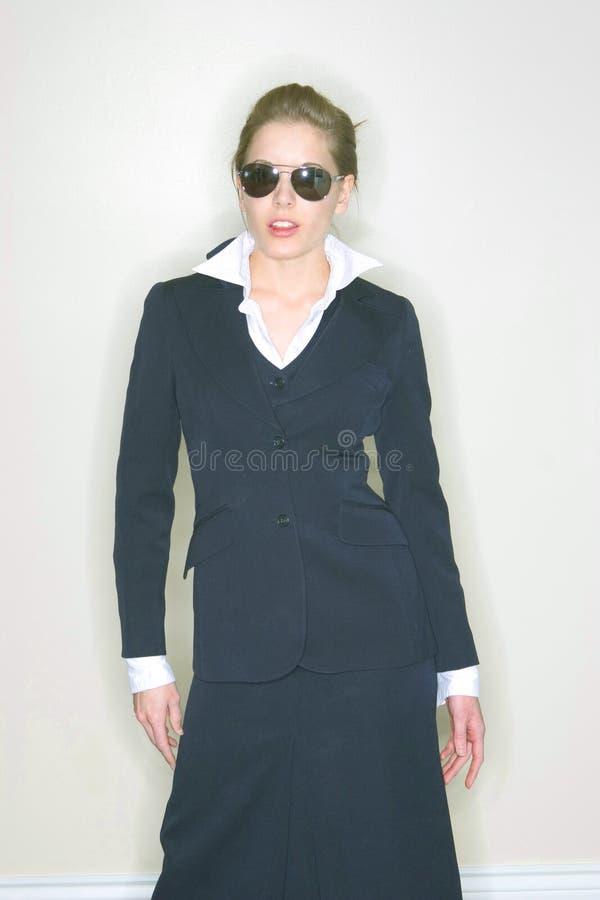 Mulher de negócios 'sexy' fotografia de stock royalty free