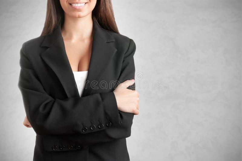 Mulher de negócios Smiling imagem de stock royalty free