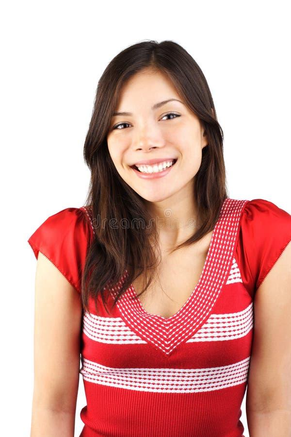 Mulher de sorriso bonito imagens de stock royalty free