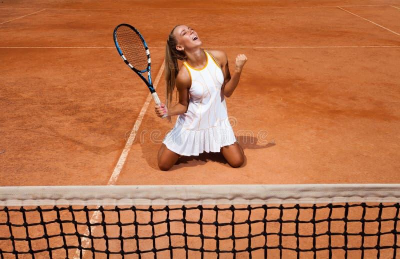 Mulher desportiva imagens de stock