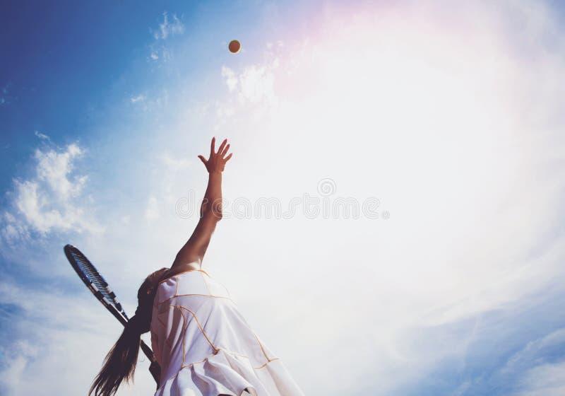 Mulher desportiva fotos de stock