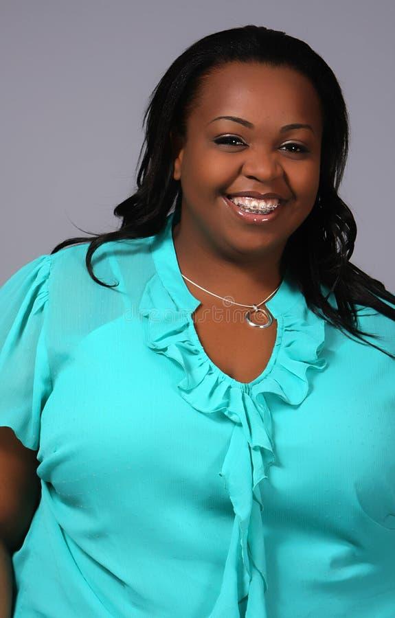 Mulher do americano africano imagens de stock